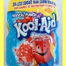 KOOL-AID TROPICAL PUNCH DRINK MIX WITH VITAMIN C & E, 35% LESS SUGAR THAN SODA