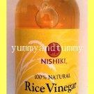 NISHIKI BRAND JAPANESE RICE VINEGAR 100% NATURAL - USA SELLER