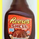 REESES'S SHELL CHOCOLATE & PEANUT BUTTER TOPPING - FREEZES IN SECONDS