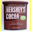 HERSHEY'S COCOA NATURAL UNSWEETENED, ALL NATURAL - USA SELLER