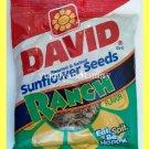 DAVID ROASTED & SALTED SUNFLOWER SEEDS RANCH FLAVOR - USA SELLER