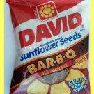 DAVID ROASTED & SALTED SUNFLOWER SEEDS BAR-B-Q FLAVOR ALL NATURAL - USA SELLER