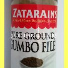ZATARAIN'S PURE GROUND GUMBO FILE - THICKENS & ADDS FLAVOR TO GUMBO OR SOUPS