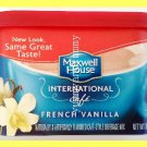 MAXWELL HOUSE FRENCH VANILLA CAFE-STYLE BEVERAGE MIX - USA SELLER