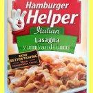 BETTY CROCKER HAMBURGER HELPER ITALIAN LASAGNA - USA SELLER