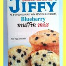 JIFFY BLUEBERRY MUFFIN MIX - FOR MUFFINS, PANCAKES AND WAFFLES - USA SELLER