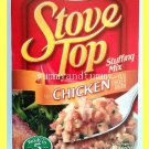 KRAFT STOVE TOP STUFFING MIX FOR CHICKEN WITH REAL CHICKEN BROTH READY IN 5 MIN.