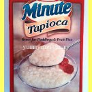 KRAFT MINUTE TAPIOCA GREAT FOR PUDDINGS AND FRUIT PIES MICROWAVABLE - USA SELLER