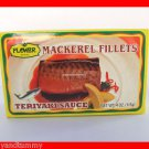4 CANS THAI MACKEREL FISH FILLETS IN TERIYAKI SAUCE - US SHIP
