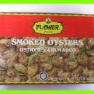 4 CANS MALAYSIA SMOKED OYSTER IN COTTONSEED OIL - USA SELLER
