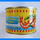 4 CANS THAI MINCED PRAWNS IN SPICES - USA SELLER