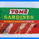 4 CANS PORTUGAL SARDINES IN TOMATO SAUCE WITH OLIVE OIL
