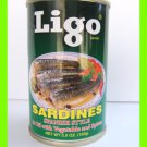 4 CANS SPANISH STYLE SARDINES IN OIL WITH VEGETABLE & SPICES