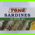 4 CANS DELICIOUS TOME SARDINES IN OLIVE OIL - USA SELLER