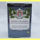 4 PACKS ALFALFA WITH MINT NATURAL HERBAL TEA  RESTORATIVE TONIC