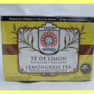 4 PACKS NATURAL LEMONGRASS HERBAL TEA - REFRESHES & INVIGORATES