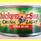 4 CANS CHUNK LIGHT TUNA IN OIL 12 OUNCES EACH CAN - USA SELLER