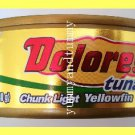 4 CANS CHUNK LIGHT YELLOWFIN TUNA IN VEGETABLE OIL, OMEGA 3 - USA SELLER