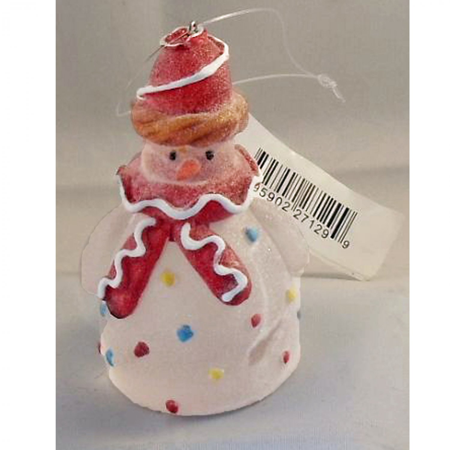 Hallmark Christmas Snowman with Icing Hanging Ornament