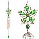 Gypsy Flower Wind Chime: Green