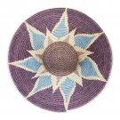 African Basket Cool Bloom Gallery Display Master Weave Art Home Decor
