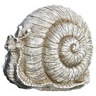 Pudgy Pals Snail Garden Statue Outdoor Statuary Decor Yard Art