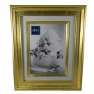 Gold Leaf 4x6 Photo Frame Wall Hanging or Shelf Sitter Mikasa 9x11