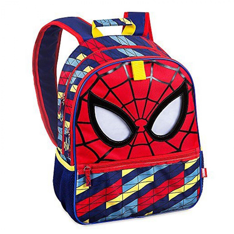 Disney Store Marvel Spider-Man Backpack Kids Daypack School Work & Play