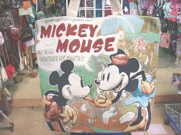 Handmade Handbag - Mickey Mouse