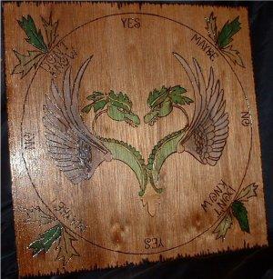 Double Dragon Pendulum Board