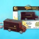 UPS United Parcel Service Keychain - Package Car W/LIGHTS & Sound