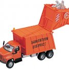 Dept 1-87 GMC Topkick 3-Axle Garbage Truck 1/87 Scale