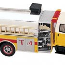 Dept 1-87 GMC Topkick 3-Axle Fire Tanker w/ Pump 1/87 Scale