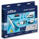 Jetblue 12 piece Airport Playset (Diecast with Plastic)