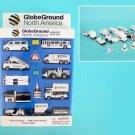 GlobeGround Airport Ground Vehicles Play Set