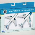 Real Toy Air Force One & Two Diecast Plane Set