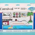 Carnival Cruise 10 Piece Playset (Diecast w Plastic)