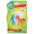 Retro Gumby and Pokey Bendable Figures