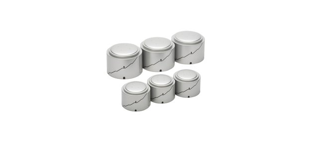 Herpa Gasoline Tanks (3 Small 3 LARGE) 1/500 Scale