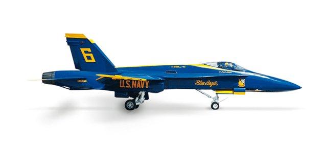 Herpa Wings US Navy F/A-18 Hornet Blue Angels 1/200 Model