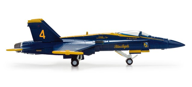 Herpa Wings US Navy F/A-18 Hornet Blue Angels #4 1/200 Model