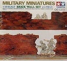 1/35 scale Brick wall set Military Miniatures Tamiya