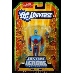 JLU Ryan Choi Atom Justice League Unlimited Mattel