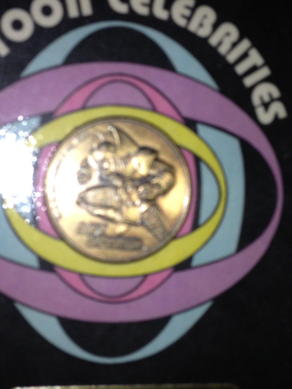 Bronze Lex Luthor Coin