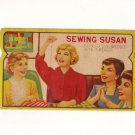 Vintage, Sewing Susan Needle card with needles