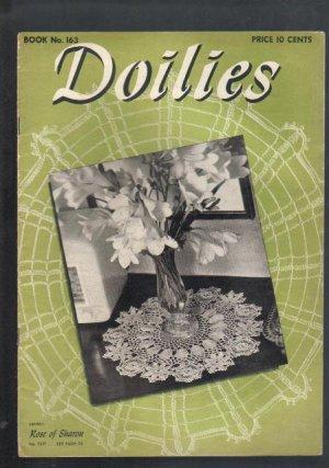 Vintage  Doilies Pattern Book, 1941, Book 163