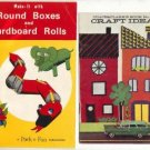 Two Vintage Craft books, Old Fashioned Fun