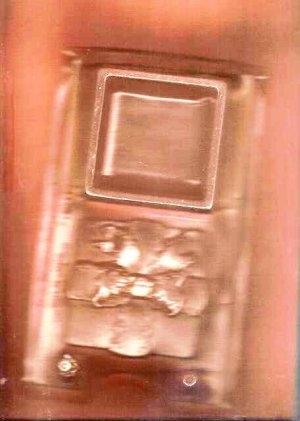 Gift Box Pour Mold for candy making or plaster cast, VGC