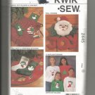 Kwik Sew Pattern 2445, Christmas Project to Sew