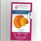 Spellbinders Nestabilities, S4-110 New 5 Die templates, Classic Ovals Large